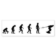 Evolution of Wakeboarding Bumper Bumper Sticker