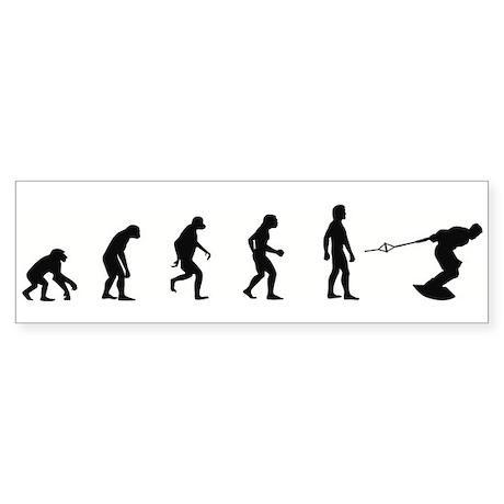 Evolution of Wakeboarding Bumper Sticker