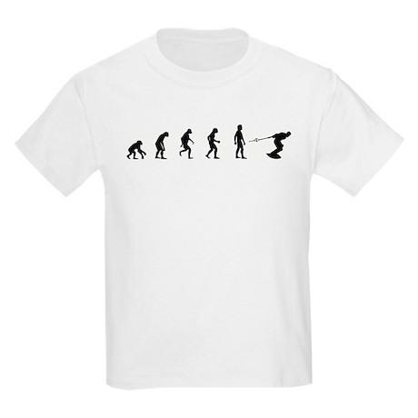 Evolution of Wakeboarding Kids Light T-Shirt