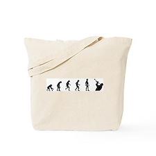 Evolution of Trumpet Tote Bag