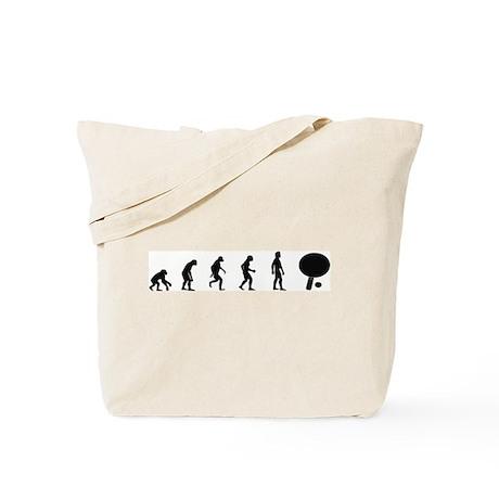 Evolution of Table Tennis Tote Bag