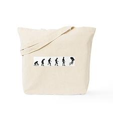 Evolution of Swimming Tote Bag