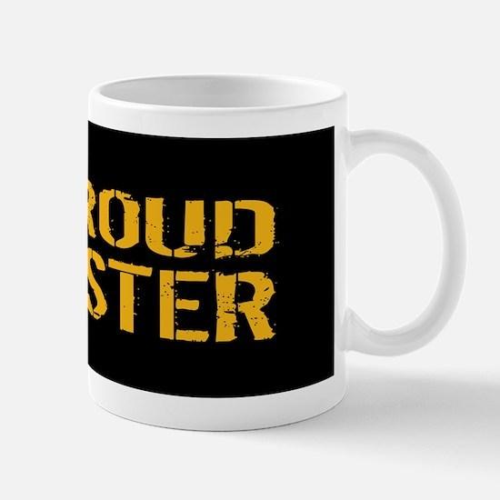 U.S. Navy: Proud Sister (Black) Mug