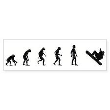 Evolution of Snowboarding Bumper Bumper Sticker