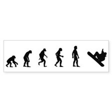 Evolution of Snowboarding Bumper Bumper Stickers