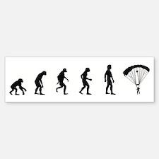 Evolution of Skydiving Bumper Bumper Bumper Sticker