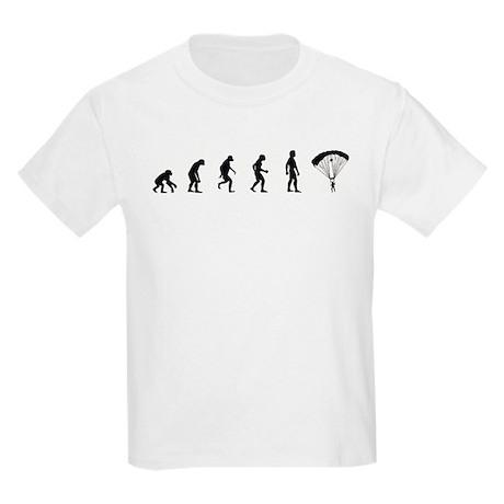 Evolution of Skydiving Kids Light T-Shirt