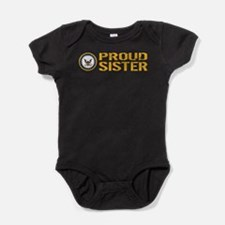 U.S. Navy: Proud Sister Baby Bodysuit