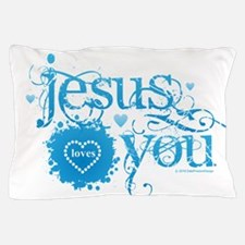 Funny Jesus loves you Pillow Case