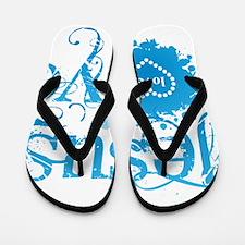 Unique God bless america Flip Flops