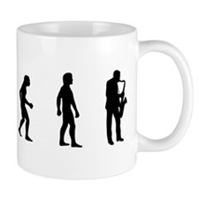 Evolution of Saxaphone Mug