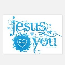 Cute Best selling god bless america Postcards (Package of 8)