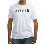 Evolution of Rock Fitted T-Shirt