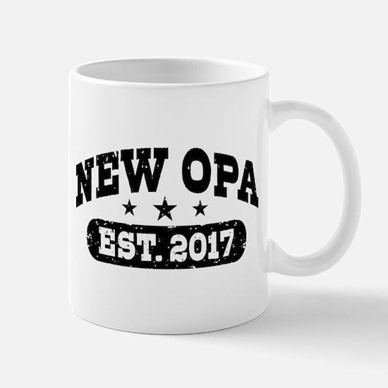 New Opa Est. 2017 Mug