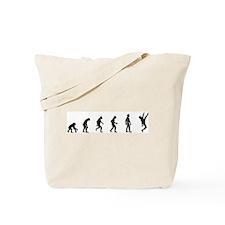 Evolution of Rock Climbing Tote Bag