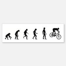 Evolution of Mountain Biking Bumper Bumper Bumper Sticker