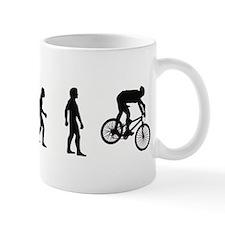 Evolution of Mountain Biking Small Mug