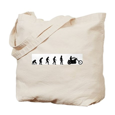 Evolution of Motocycle Riding Tote Bag