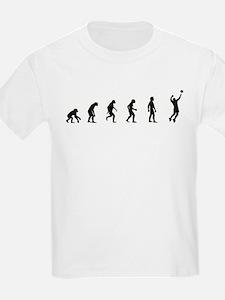 Evolution of Mens Volleyball T-Shirt