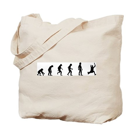 Evolution of Long Jump Tote Bag