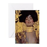 Klimt Greeting Cards (20 Pack)