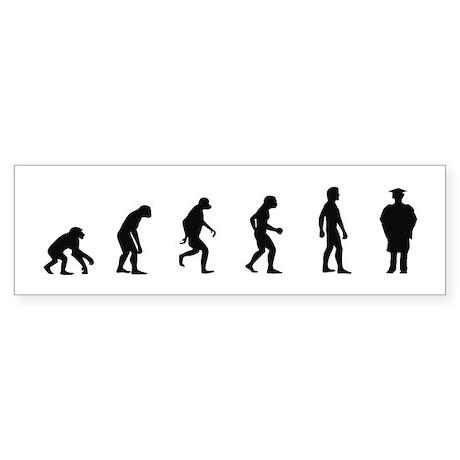 Evolution of Graduate Bumper Sticker