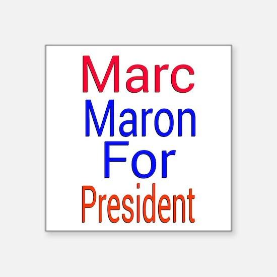Marc Maron For President Sticker