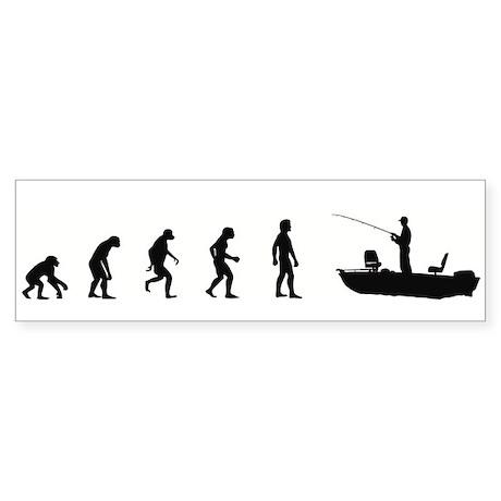 Evolution of Fish Bumper Sticker