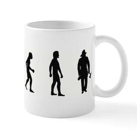 Evolution of Firefighter Mug