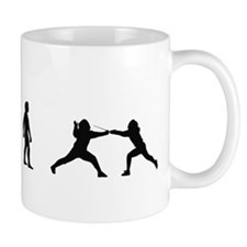 Evolution of Fencing Mug