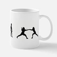 Evolution of Fencing Mug