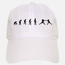 Evolution of Fencing Baseball Baseball Cap