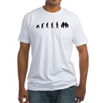 Evolution of Family Fitted T-Shirt