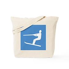 Waterskiier Tote Bag