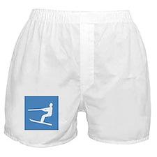 Waterskiier Boxer Shorts