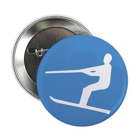 "Waterskiier 2.25"" Button (10 pack)"