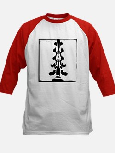Lumbar Spine Design Kids Baseball Jersey