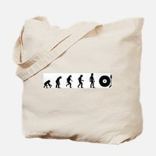Evolution of DJ Tote Bag