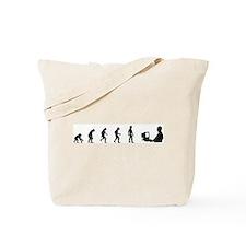 Evolution of Computer Geek Tote Bag