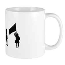 Evolution of Color Guard Mug