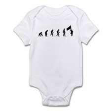 Evolution of Color Guard Infant Bodysuit