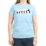Evolution of Color Guard Women's Light T-Shirt