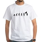 Evolution of Color Guard White T-Shirt