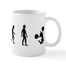 Evolution of Cheerleading Mug