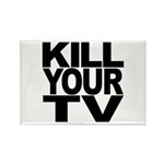 Kill Your TV Rectangle Magnet (100 pack)