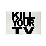 Kill Your TV Rectangle Magnet (10 pack)