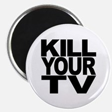"""Kill Your TV 2.25"""" Magnet (100 pack)"""