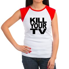 Kill Your TV Women's Cap Sleeve T-Shirt