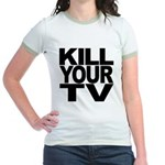 Kill Your TV Jr. Ringer T-Shirt