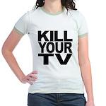 Kill Your TV Jr. Ringer T-Shirt
